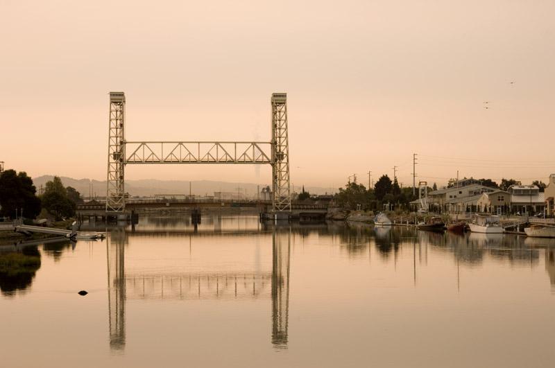 Fruitvale Rail Bridge, Oakland / Alameda, California