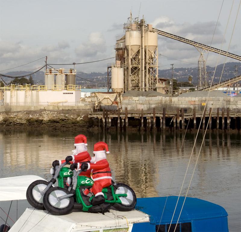 The two Santas of the Apocalypse