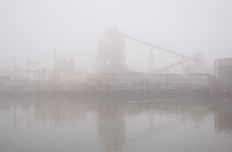 Estuary Fog, Oakland, California