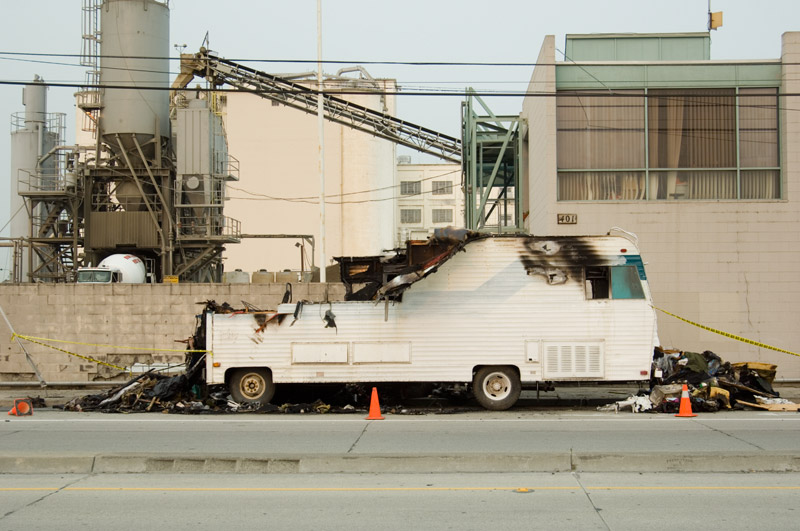 Burnout, Kennedy Street, Oakland California