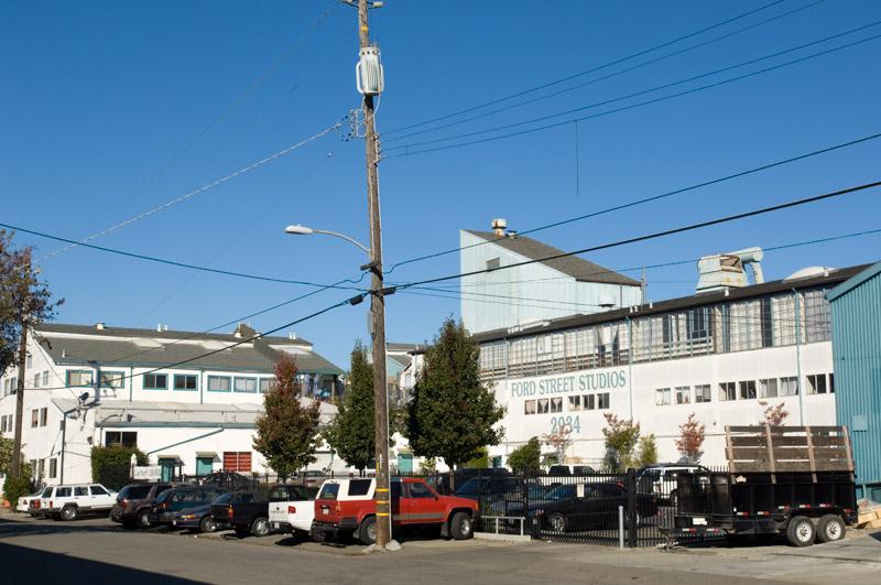 Ford Street Studios, Jingletown, Oakland, California