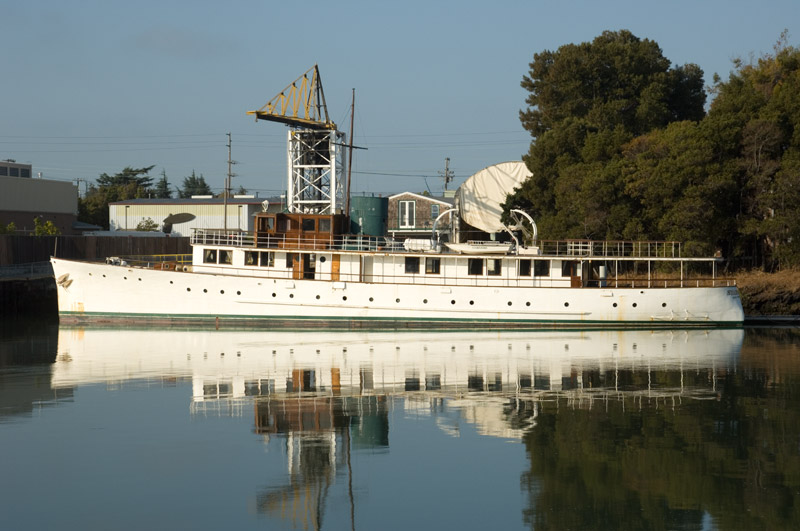 M.V. Starfjord at Stone Boat Yard, Alameda, California