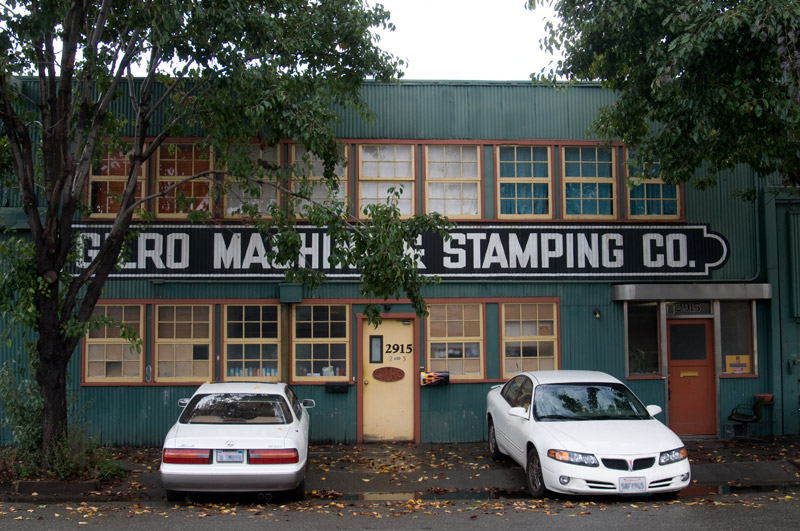 Gilro Machine and Stamping Co, Jingletown, Oakland
