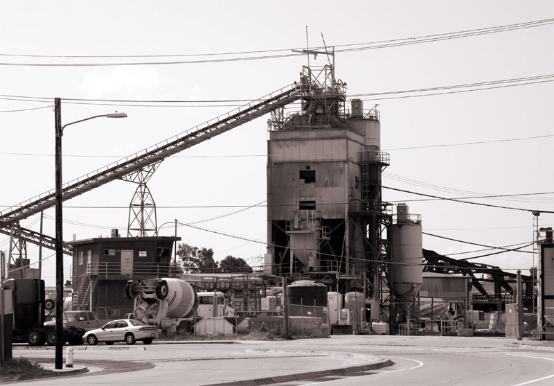 The Cemex plant, Kennedy Street and 23rd Avenue, Oakland