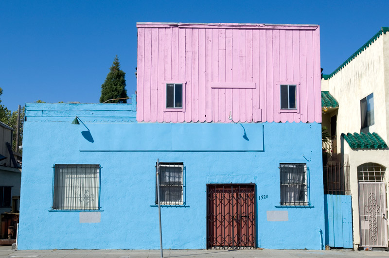 East 14th Street (International Boulevard), Oakland.