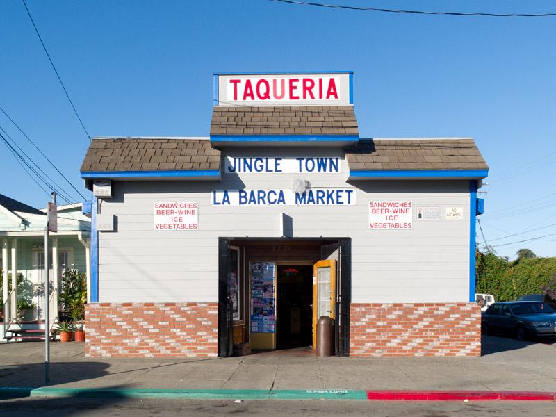 La Barca Market, East 9th, Jingletown, Oakland.