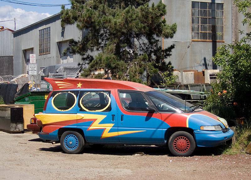 Art Car, Fifth Avenue Marina, Oakland (2006)