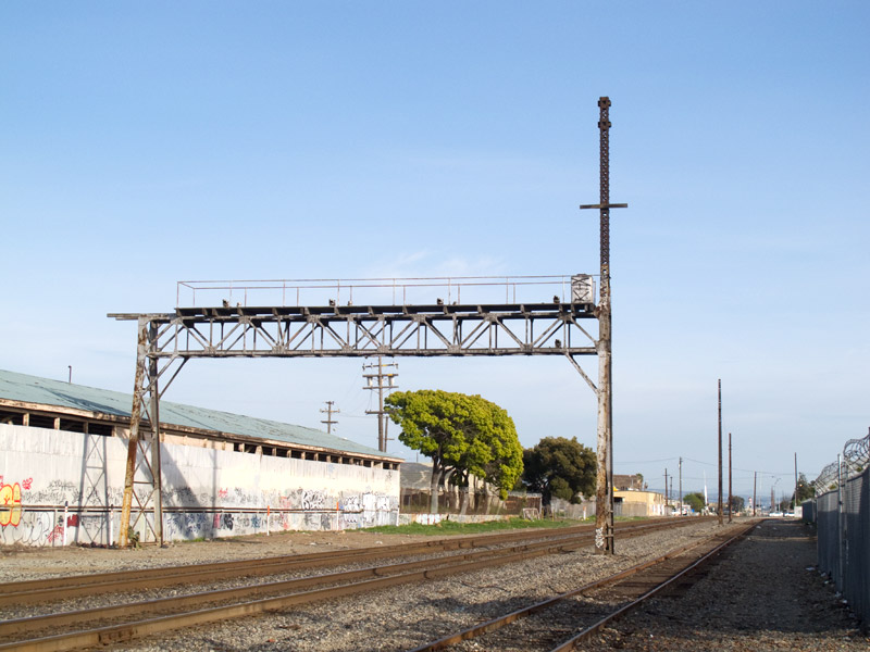 Looking Southeast from 29th Avenue, Fruitvale, Oakland.