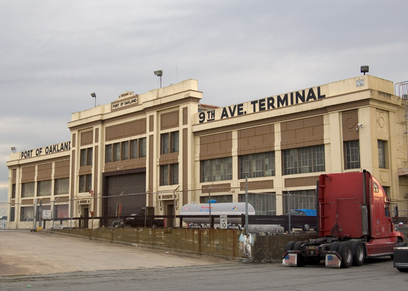 The 9th Avenue Terminal, Oakland.