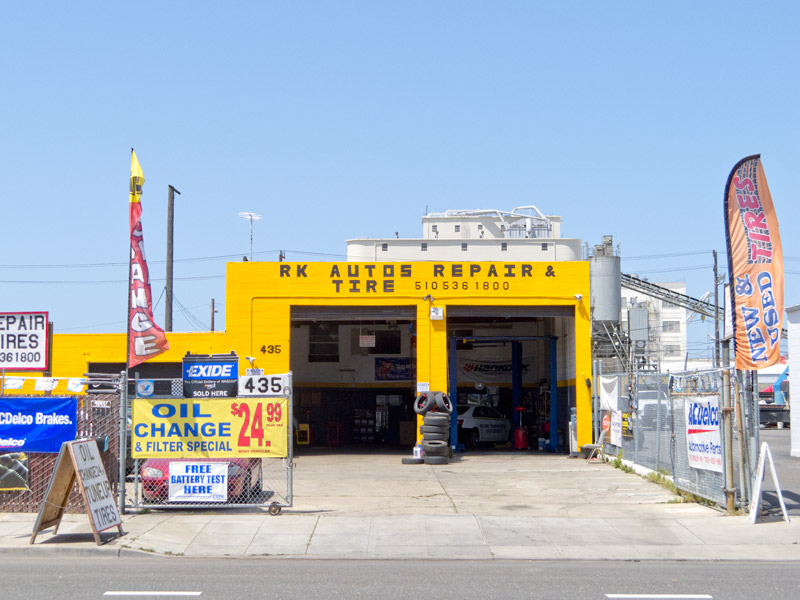 RK Autos Repair & Tire, Oakland, California.