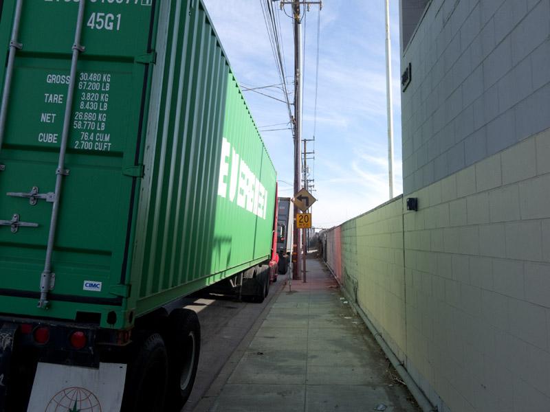 Sidewalk, Kennedy Street, Oakland