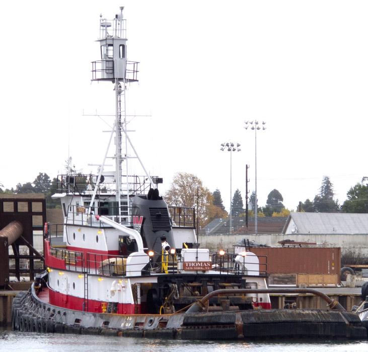 Thomas The Tugboat, Oakland Estuary, Alameda, California