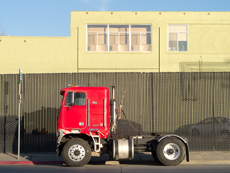 The afternoon light, Kennedy Street, Oakland, CA