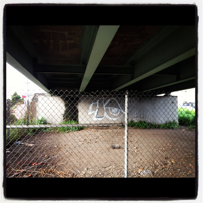 Another take on 'Under The Overcrossing'... (29th Avenue and East 7th, Oakland)