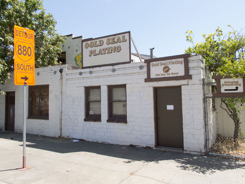 Gold Seal Plating, East 7th, Oakland, California