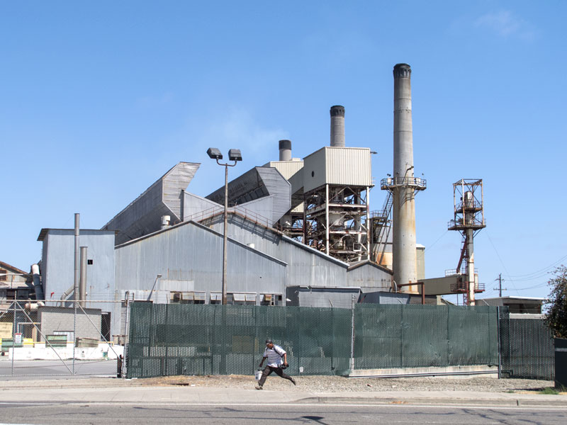 The recycling plant, Fruitvale