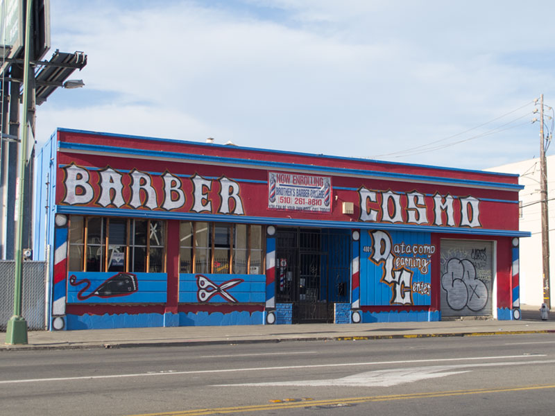 International Boulevard, East Oakland.